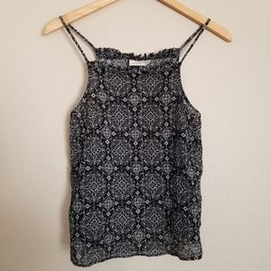 NWOT Universal Thread Crop Boho Aztec Flowy Shirt